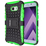 Funda Galaxy A5 (2017),Pegoo Proteccion Cover Case para (2017) Samsung Galaxy A5 (Verde)