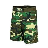 Bad Boy MMA Black Forest Camo Soldier Fight Shorts (Medium)