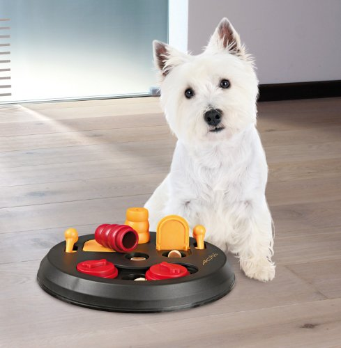 Trixie Dog Activity Flip Board Strategiespiel für Hunde, 23 cm - 2
