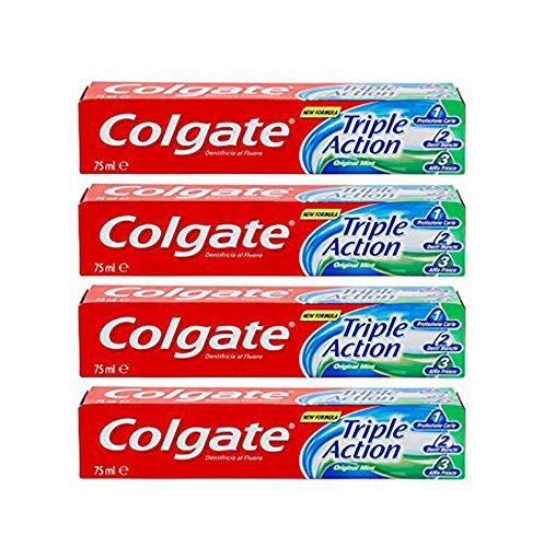 Scheda dettagliata Dentifricio Colgate Protezione Carie, con fluoro, confezione speciale, 4 tubi da 75 ml