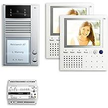 TCS T/ür Control Audio Innenstation ISW3030-0140 5Tasten freispr ws Innenstation f/ür T/ürkommunikation 4035138018555