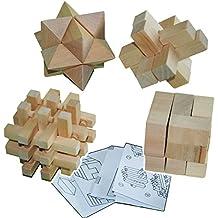 Logikspiele Holz