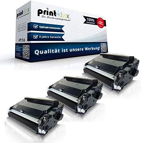3 X cartucce toner compatibili per Brother DCP-L 5500 DN DCP-L 6600 DW TN3480 TN-3480 TN 3480 Black Black - Office Plus Serie