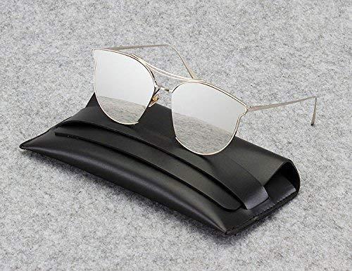 SCJ Die Frau des Sonnenbrillentransparentpuder-Farbsonnenspiegels in der Art der Korea-weiblichen Gezeitengnade des runden Gesichtes