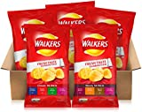 Walkers Classic & Meaty Variety Box Crisps, 25g (70 Bags)