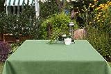 ACRYLBESCHICHTETE Gartentischdecke eckig mit Bleiband im Saum, in vielen verschiedenen Größen, Farben acrylbeschichtet in Designs:Oslo, grün Maß: 115x115