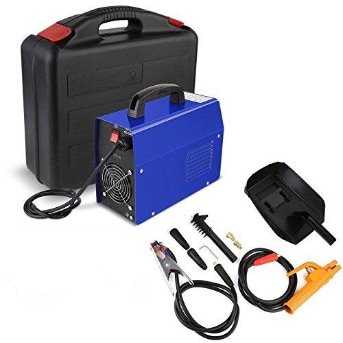 (Weihnachtsgeschenk -23%) MVPOWER 200A Inverter Schweißgerät -2.5mm Elektrodenschweißgerät MMA Profi Elektroden Schweißmaschine mit Einschaltdauer 100 % bei 160A