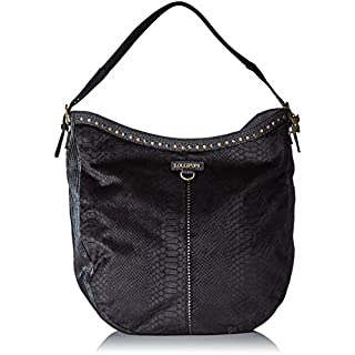 Lollipops Atak Hobo, Women's Shoulder Bag, Noir (Black), 11x37x36 cm (W x H L)