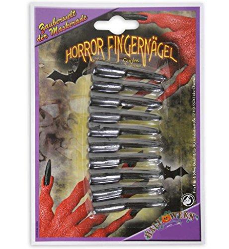 KarnevalsTeufel Halloween-Vampirnägel, Kunst-Fingernägel