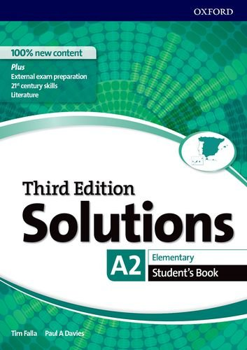 Solutions 3rd Edition Elementary. Student's Book Solutions