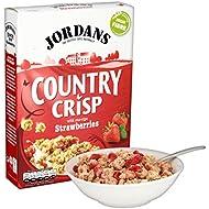 Jordans Country Crisp with Sun-Ripe Strawberries, 500 g