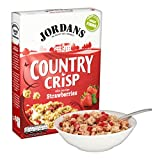 Jordans Country Crisp with Sun-Ripe Strawberries, 500g
