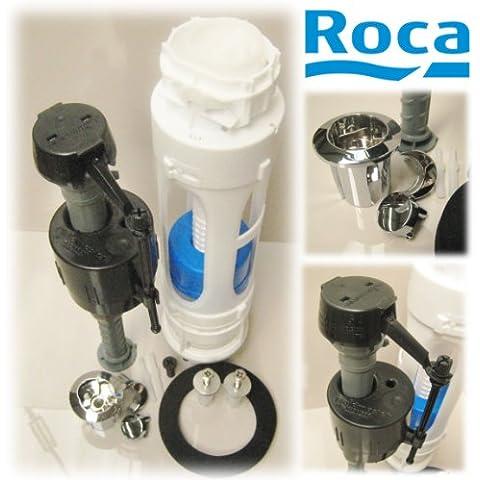 Roca A822863801 - Juego Mecanismo Flmter A/I + D2_D Recambio - Colleción De Baño - Porcelana -