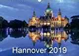 Hannover 2019 (Wandkalender 2019 DIN A3 quer): Hannover - Dämmerung/Nacht (Monatskalender, 14 Seiten ) (CALVENDO Orte) - Joachim Hasche