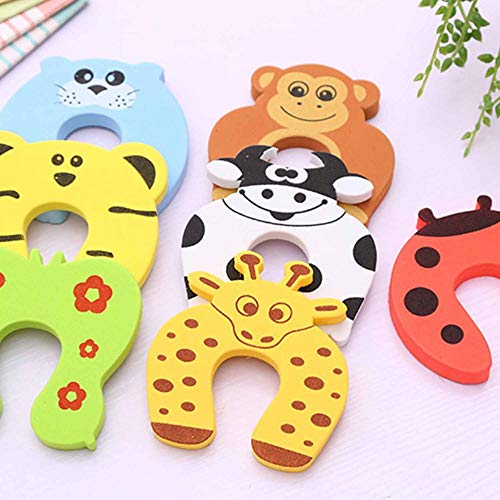 1 Stücke Cofre Infantil Türstopper Seguridad Puerta Stilvolle Baby Fingerklemmschutz Halten Sicherheit Kinder Halter Zufällige Farbe - Zufällig -