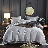 BB.er Farbe doppelseitige Zinn draht Frühjahr und Sommer Bettwäsche setzt einen einfachen grauen Europäischen und Amerikanischen Wind Home Textile verpackt, 200 * 230 cm