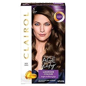 Clairol Age Defy Permanent Hair Dye 5 Medium Brown