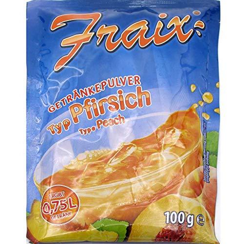 2,5kg Fraix Instant Getränkepulver Pfirsich (25x100g) MHD:7/20
