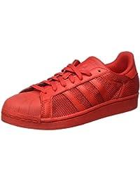 adidas Herren Superstar Sneakers, Blau, 38 EU