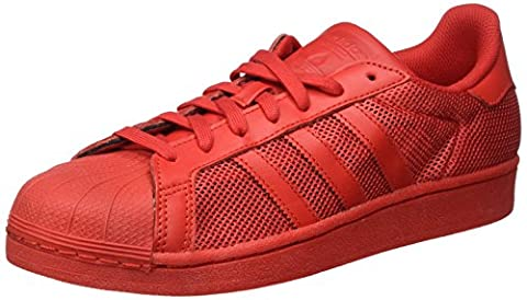 adidas Superstar, Baskets Basses Homme, Rouge (Collegiate Red/Collegiate Red/Collegiate Red), 42 EU