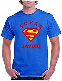 Camisetas divertidas Parent Super Javier - Para Hombre Camiseta