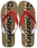 Superdry Colour Pop Flip Flop, Infradito Uomo, Multicolore (Vulcan Navy/True Red/Cork V2y), 40/41 EU