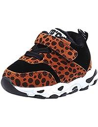 UOMOGO Scarpine Neonato Primi Passi Sneaker Bambini e Ragazze Estate Bambina Scarpe Sandalo 3 a 18 Mesi - Moda