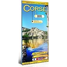CORSE CARTE TOURISTIQUE