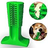 xiaohan Dog Stick-Puppy spazzolino Dentale spazzolatura Stick Efficace Doggy Denti Pulizia massaggiatore da Yoga in Gomma Naturale Resistente Bite Chew Giocattoli per Cani Animali