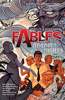 Fables Vol. 7: Arabian Nights (and Days) (Fables (Graphic Novels)) (English Edition) von [Willingham, Bill]