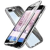 Coque iPhone 8 Plus Transparente, Etui iPhone 7 Plus d'adsorption Magnétique Double...