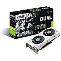 ASUS Dual-GTX1060-6G Gaming Nvidia GeForce Grafikkarte (PCIe 3.0, 6GB DDR5 Speicher, HDMI, DVI, Displayport)
