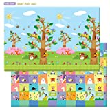Tappeto da gioco - BABY CARE playmat - Birds in the trees - Large - 2,1m *1,4m *13mm