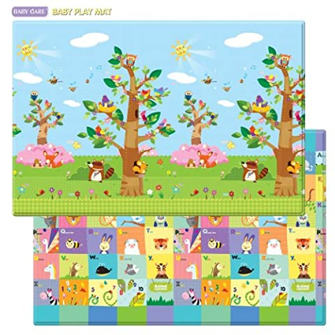 Baby Care Play Mat - Birds in the tree (Large)