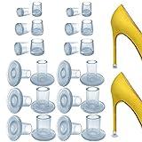 NORTHERN BROTHERS Absatzschoner - 12 Paar Absatzschoner High Heels Absatzschutz Schutz für Rennen, Hochzeiten, Formelle Anlässe