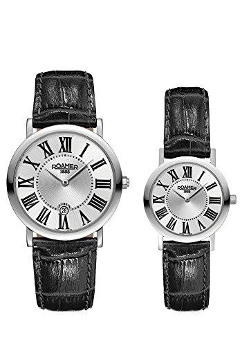 Roamer of Switzerland Women's 38mm Leather Band Quartz Watch 934000 41 11 SE