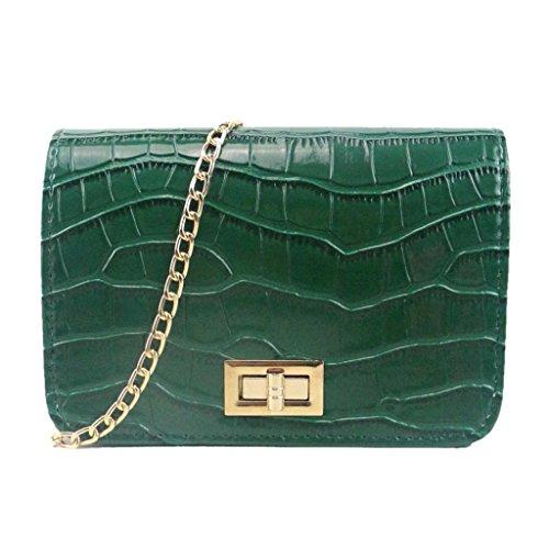 JERFER Crossbody Bag (Green)