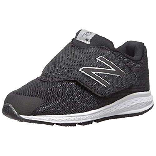 New Balance Kids Unisex Vazee Rush v2 (Infant/Toddler) , Black/Silver, 21 M EU