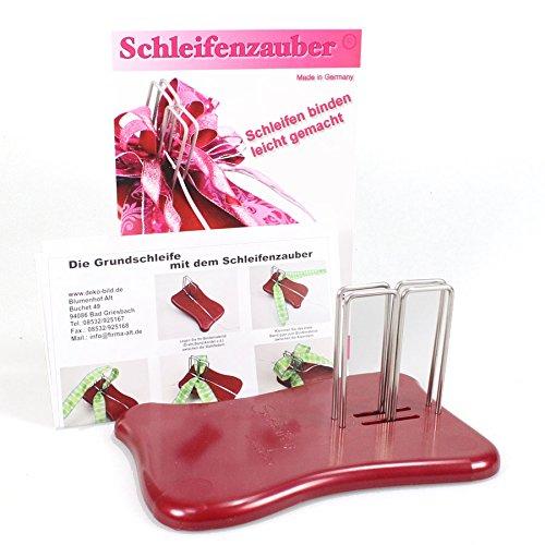 N/A Schleifenzauber Original Hilfe z Schleifen binden Schleifenbindegerät Fee Bindehilfe