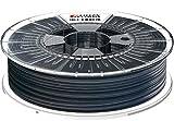 Formfutura 175HDGLA-STBLA-0750 3D Printer Filament, PETG, See Through Schwarz