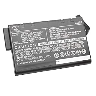 vhbw Akku passend für Sys-Tech Ranger i-Note Laptop, Notebook (6600mAh, 10.8V, Li-Ion)