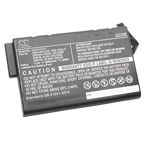 Zoom IMG-2 vhbw li ion batteria 6600mah