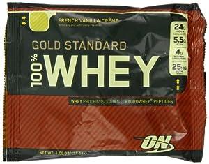 Optimum Nutrition 100% Whey Gold (Box of 24) Vanilla