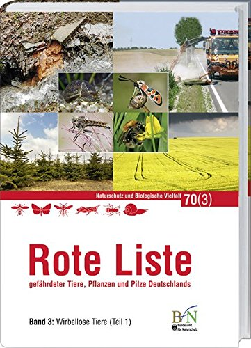 Rote Liste gefährdeter Tiere, Pflanzen und Pilze Deutschlands: Band 3: Wirbellose Tiere -