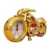 zamac-four estilos de Creative motocicleta reloj despertador.