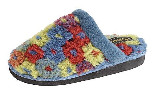 Traversine Donna Pantofole Multi Blu Karlie rgpzHwqfr