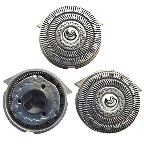 Meijunter Ersatz Rasierapparat Kopf Folie+Schneider für Philips S9911 S9731 S9711 S9511 (Kopf Rasierer Norelco)