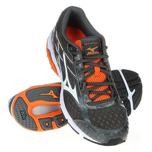 Mizuno , Chaussures de course pour homme Blanc-Gris-Orange