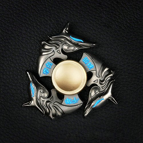 charm403-1pcs-tri-spinner-dragon-head-focusing-adhd-autism-relieving-edc-finger-spin-gyro-toy-gift-b