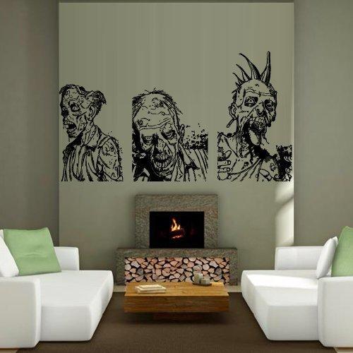 Wand Aufkleber Decor Aufkleber Aufkleber Kunst VNYL Design Mummy Zombie Horror Fear Dead Myth Charakter Corpse Schlafzimmer (M1244) von decorwalldecals